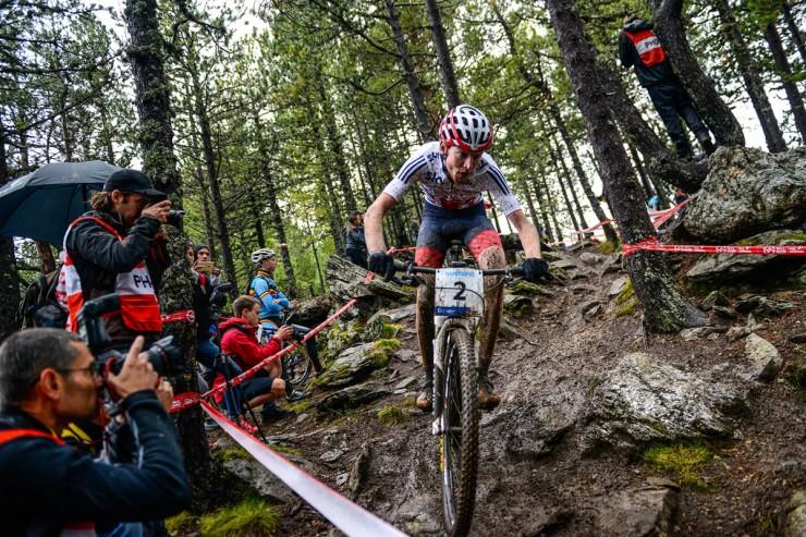 Mountain bike racing - Grant Ferguson